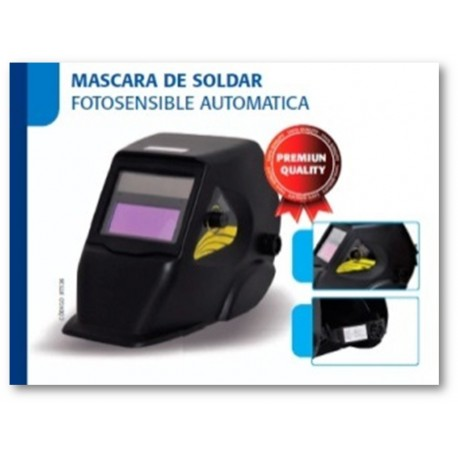 Mascara soldador fotosensible GLASS VISION