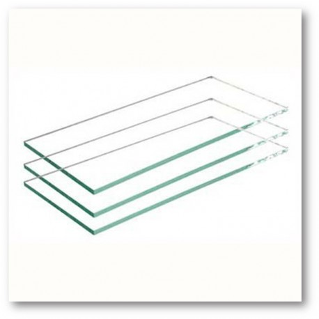 Vidrio para máscara soldador transparente