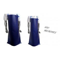 DELANTAL PVC AZUL 600 MIC 0.70 X 1.20