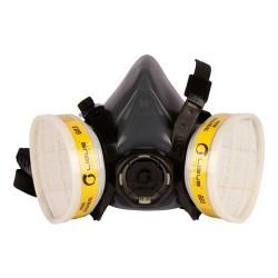 Semi Máscara Respirador Media Cara Reutilizab Libus Silicona