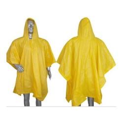 Poncho De Lluvia Amarilla Alaska Vicsa Excelente Opcion